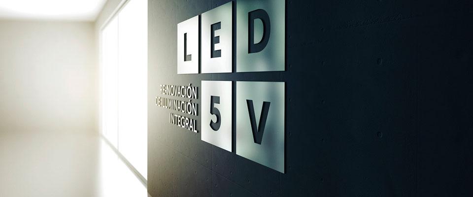 LED5V. Corporativo. Contenedor 3