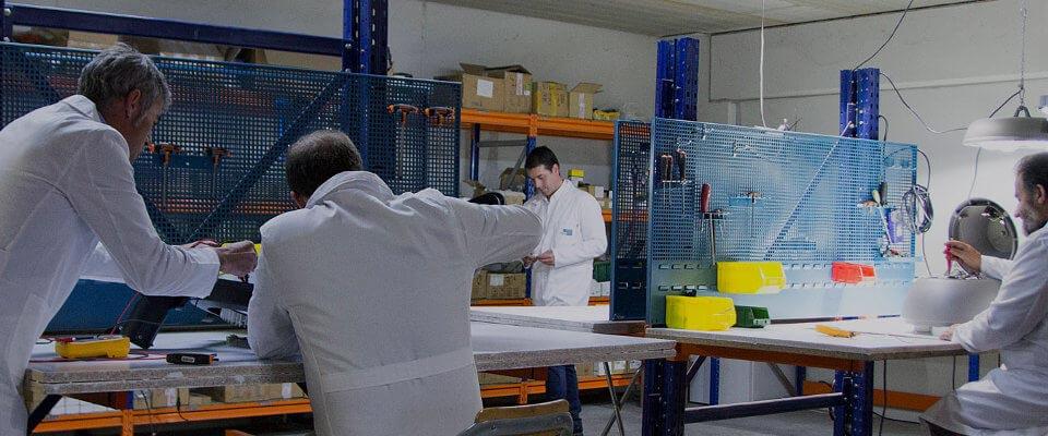 LED5V. Fabricación y ensamblajes. 4