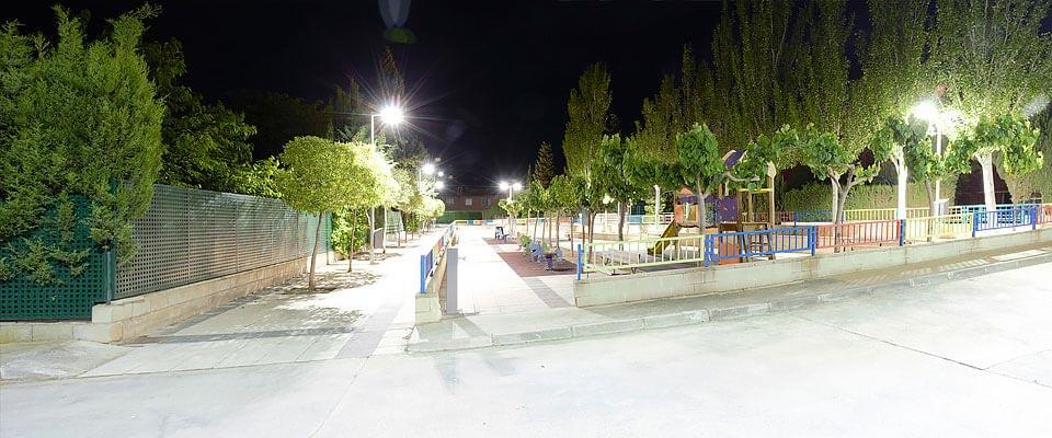 LED5V. Nuestros Proyectos. Espacios Públicos. Botorrita #1