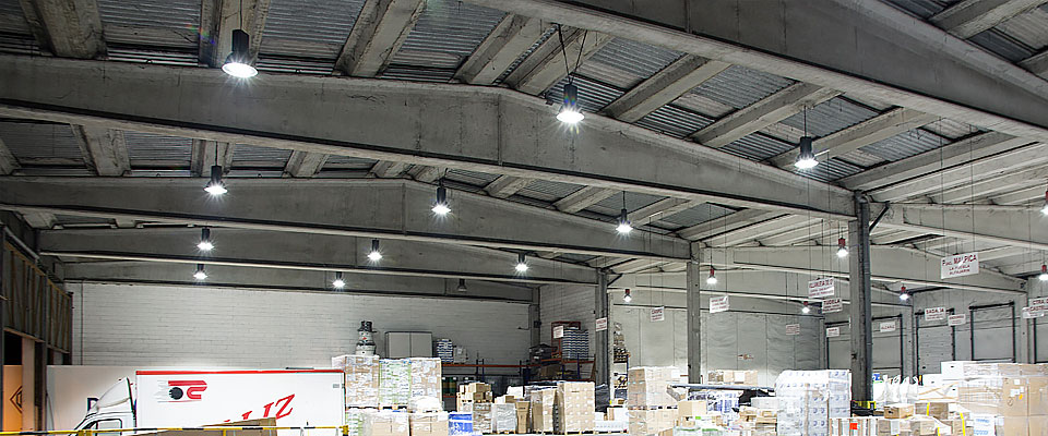 LED5V. Nuestros proyectos. Iluminación industrial. Callizo