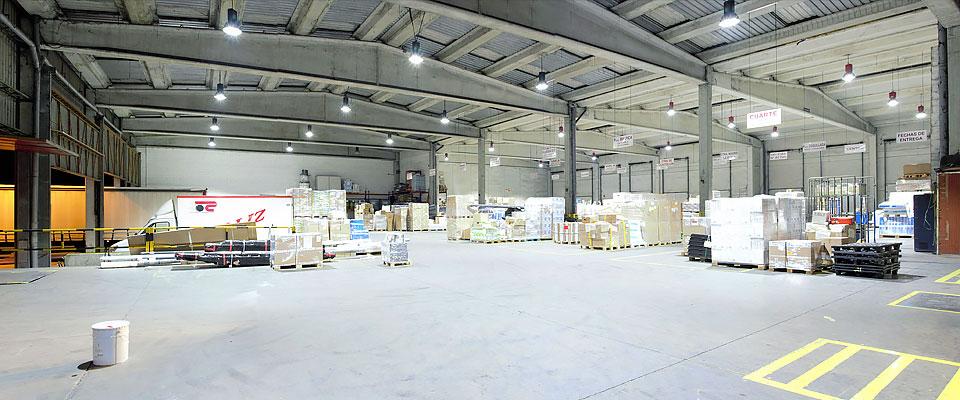 LED5V. Nuestros proyectos. Iluminación industrial. Callizo #3