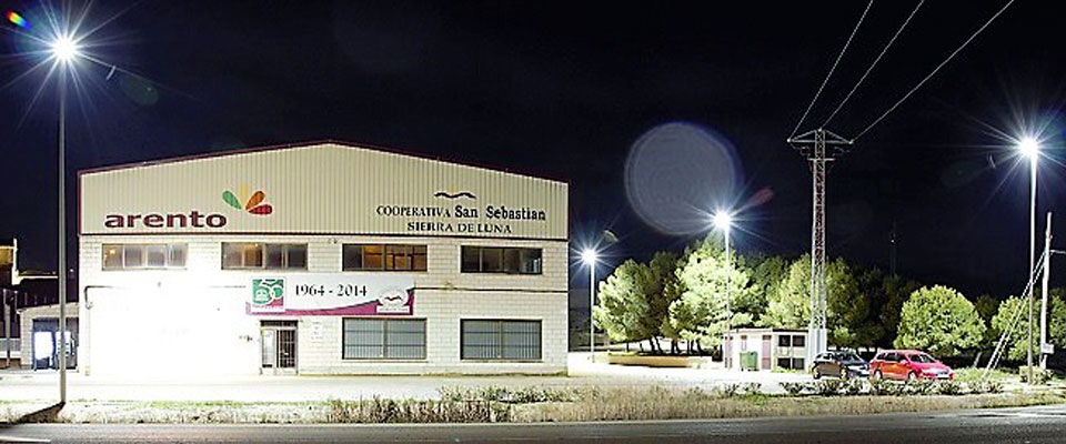 LED5V. Nuestros Proyectos. Espacios Públicos. Sierra de Luna #1