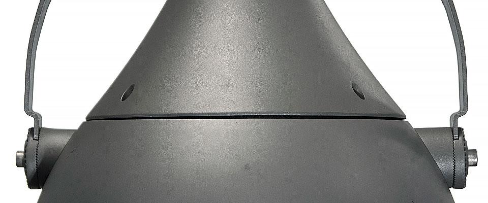 LED5V. Iluminación industrial. Campana Bardenas. Contenedor. Alzado