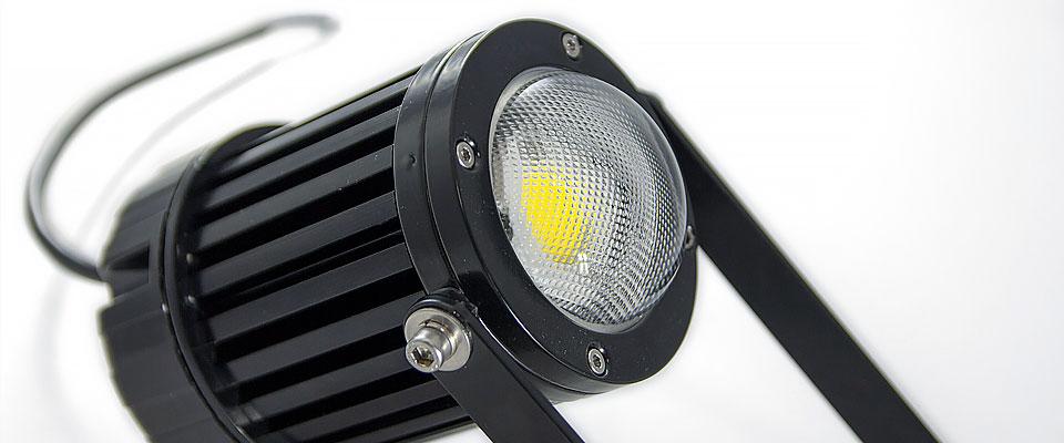 LED5V. Iluminación espacios singulares. Proyector LED David. Contenedor. Perfil