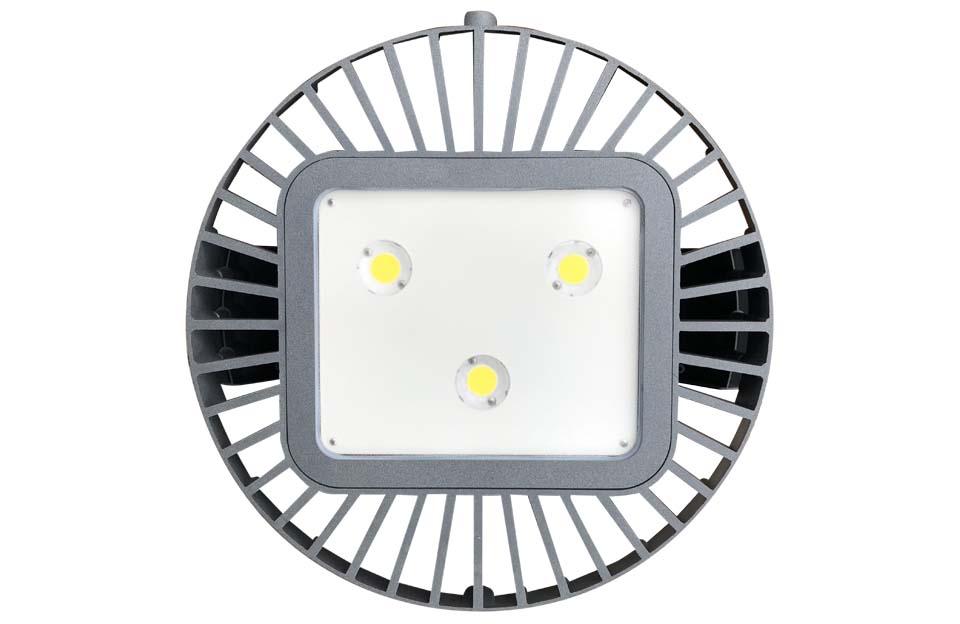 LED5V. Iluminación industrial. Campana Monegros. Contenedor. Detalle LED