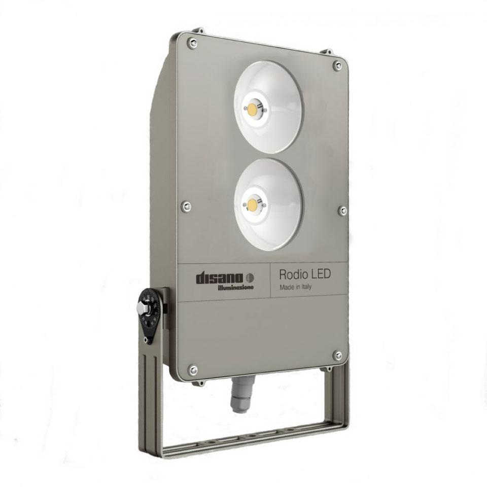 LED5V. Iluminación espacios singulares. Proyector LED Rodio. Contenedor. Completo