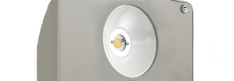 LED5V. Iluminación espacios singulares. Proyector LED Rodio. Contenedor. LED