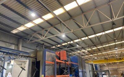 NHT – Carcar: luminarias industriales Bardenas